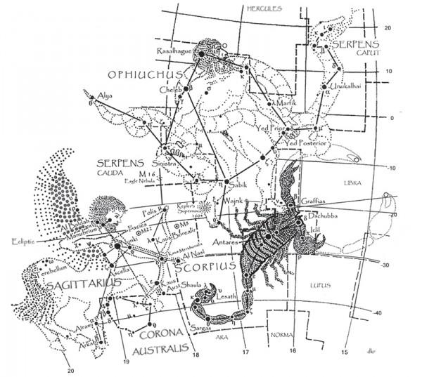 Ophiuchus-Scorpius-Sagittarius